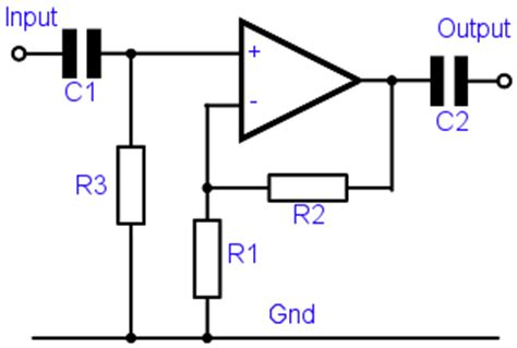 what is coupling capacitor in an lifier non inverting operational lifier circuit op electronics radio