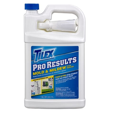 Bathroom Mold Removal Home Depot Tilex 128 Oz Fresh Pro Results Mold And Mildew Stain