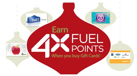Can You Use Kroger Gift Cards For Gas - 4x fuel points from kroger southern savers