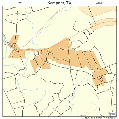 kempner texas map kempner texas map 4838800