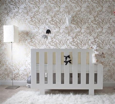 gold wallpaper nursery white and gold wallpaper contemporary nursery layers