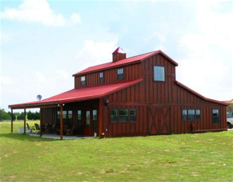 metal barn house plans quotes