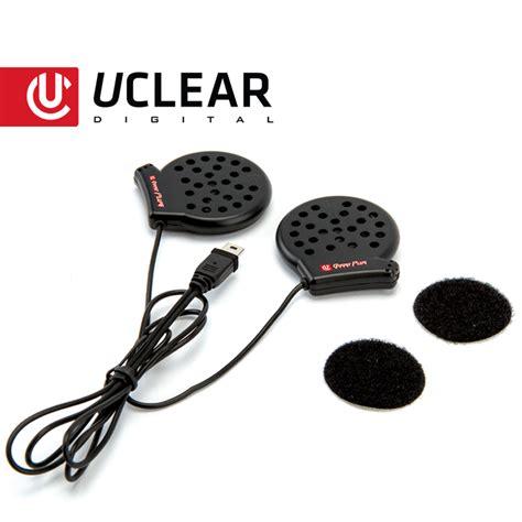 Amp Bluetooth Helmet Audio System Dual Kit Uclear Digital