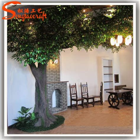 Indoor Decorative Trees For The Home | banyan tree for decorative tree stump indoor trees large