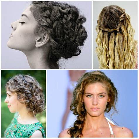 hairstyles with loose curls and braids cozy braided hairstyles for curls 2017 hairstyles 2018