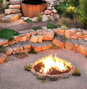 Outdoor Firepit Ideas Outdoor Pit Seating Ideas Corner