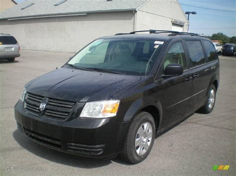 black dodge caravan 2010 brilliant black pearl dodge grand caravan se