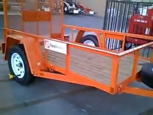 for rent at home depot trailers