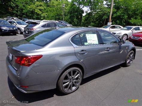 gray lexus lexus gs nebula grey autos post