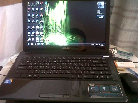 Laptop Asus A42f asus a42f corei3 laptop nt a single prob mony backguaranty clickbd