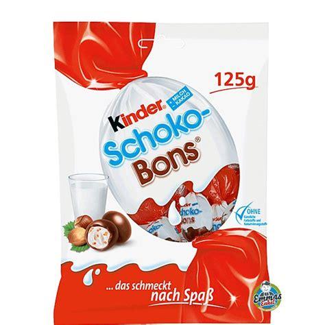 Kinder Schoko Bons Crispy ferrero kinder schoko bons milk chocolate candies hazelnut filling 125g 4 4oz ebay
