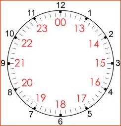 24 hour clock conversion sop example