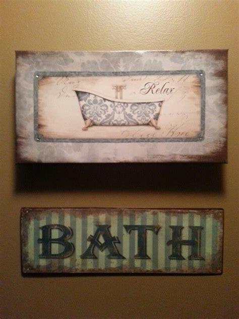 Rustic Bathroom Signs Rustic Bath Signs Rustic Pinterest