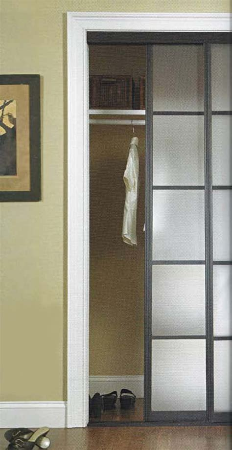 Closet Door Glass Mirror Closet Doors Casual Cottage
