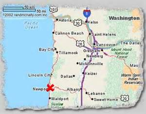 maps directions yaquina bay properties oregon coast