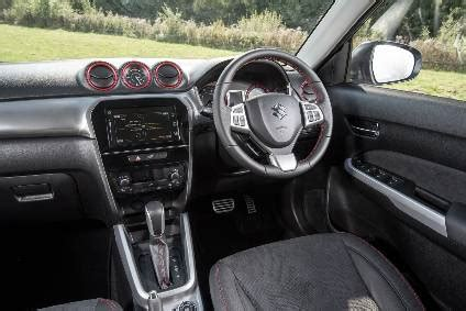 interior design and technology – suzuki vitara