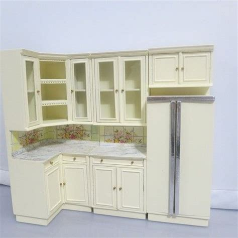 dollhouse furniture kitchen bespaq dollhouse miniature kitchen cabinet furniture set
