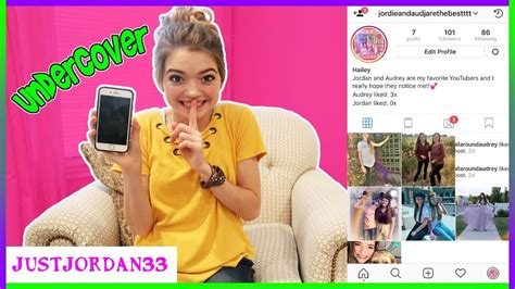how to a fan page on instagram going undercover on instagram as a fan page justjordan33