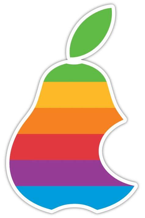 Apple Aufkleber Birne by Ich Habe Mal Gesehen Dass Das Apple Logo Mit Einen Birne