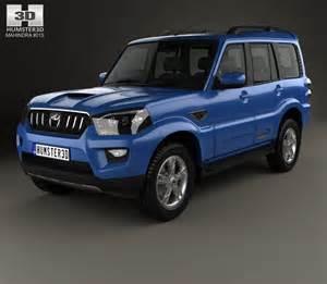 scorpio new model car mahindra scorpio 2015 3d model hum3d
