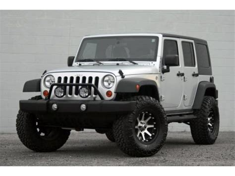 2011 Jeep Wrangler Unlimited Horsepower 2011 Jeep Wrangler Unlimited Sport 4x4 Data Info And