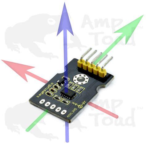 3 Axis Sensor Arduino 2 x 3axis accelerometer sensor tracks position by motion