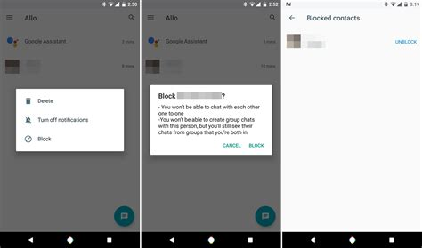 how to block someones number on android how to block someone s number on allo the android soul