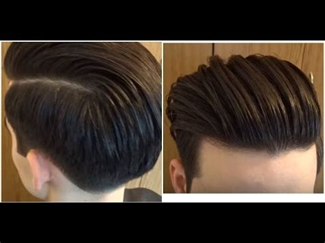 conservative mens haircuts back of head sexiest mariano di vaio inspired long slick back haircut