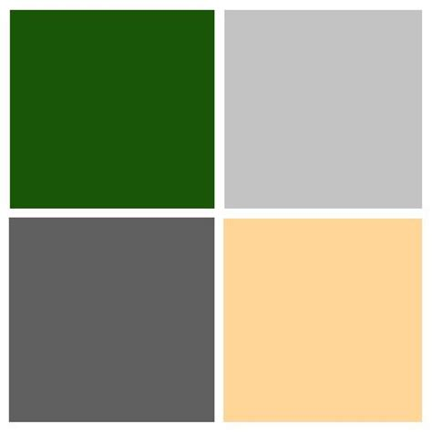 color combination for green color palette hunter green light grey dark grey pink