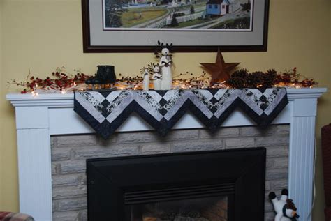 pattern for christmas mantel scarf winter fireplace mantle scarf