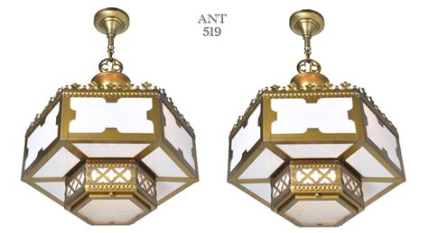 arts and crafts style chandeliers vintage hardware lighting or arts and crafts