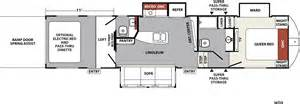 5th wheel hauler floor plans xlr nitro travel trailer fifth wheel haulers