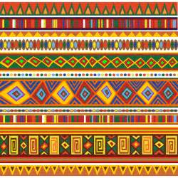 ethnic colorful pattern africa art by bluedarkat graphicriver