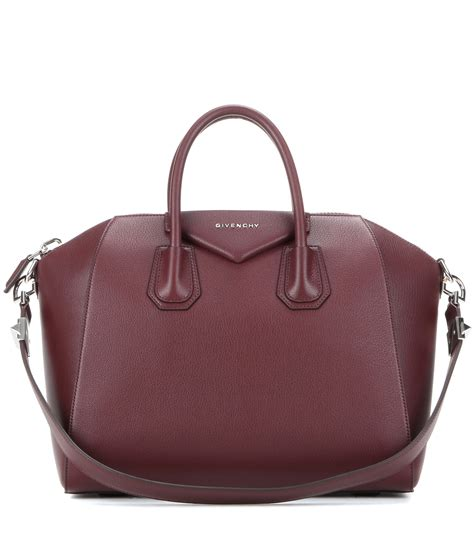 Givenchy Theresa Grained Sz 28x25x15cm givenchy small antigona tote in purple save 38 lyst