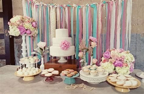 cake table backdrop diy dessert table