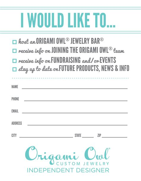 Origami Owl Customer Service - origami owl door prize search printables