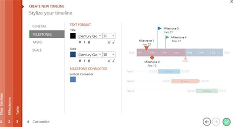 how to quickly make a graphical litigation timeline in