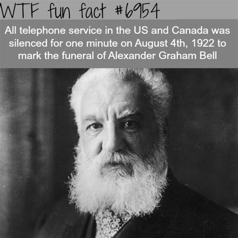 facts about alexander graham bell bbc funeral of alexander graham bell wtf fun fact aboutube com