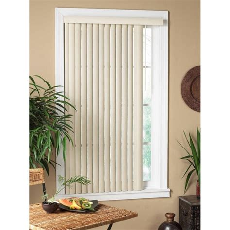 Vertical Window Blinds Textured Vertical Window Blind Pvc Light Filtering Shade