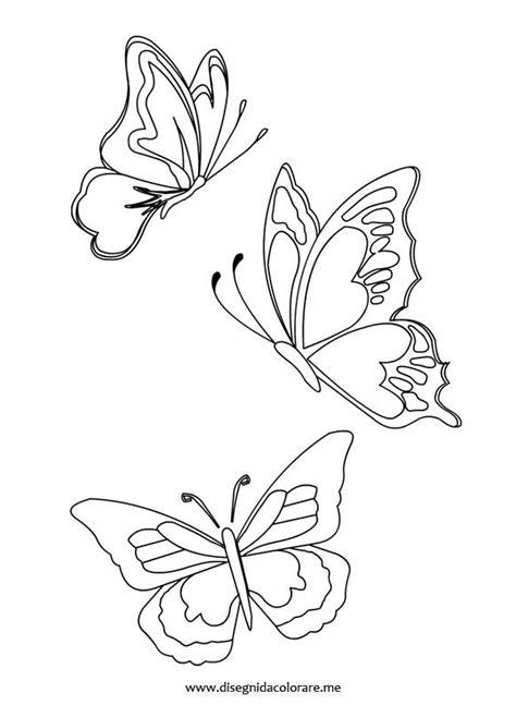 fiori e farfalle disegni farfalle disegni vari farfalle e