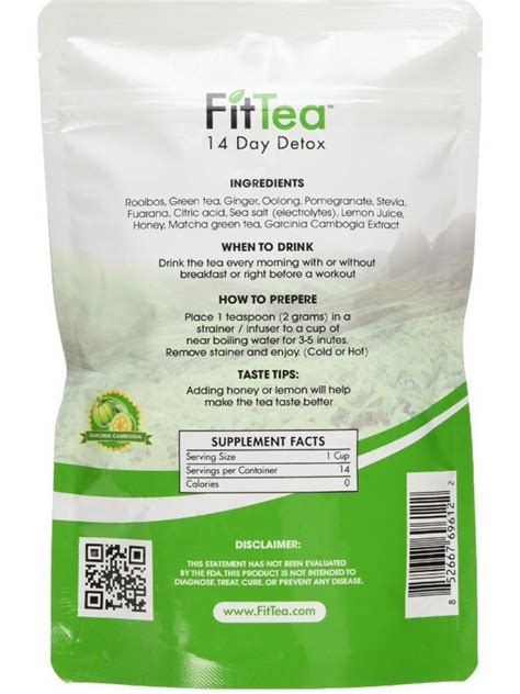 Detox For Less Review by Fit Tea The Best Detox And Weight Loss Product Fashion