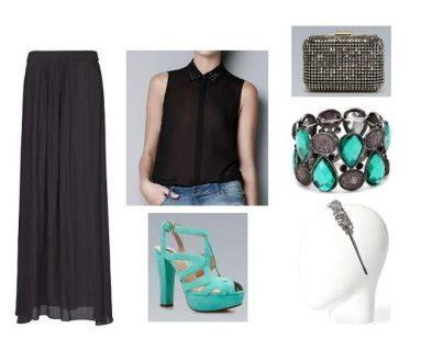 como combinar una falda larga c 243 mo combinar una falda larga negra para una boda blog