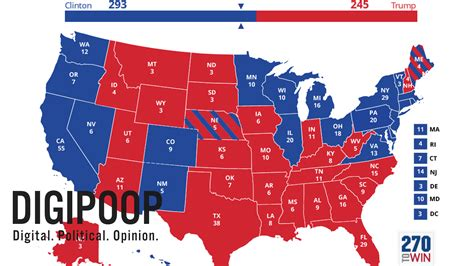 2016 electoral map predictions 1 popular 168 list 2016 presidential election predictions map