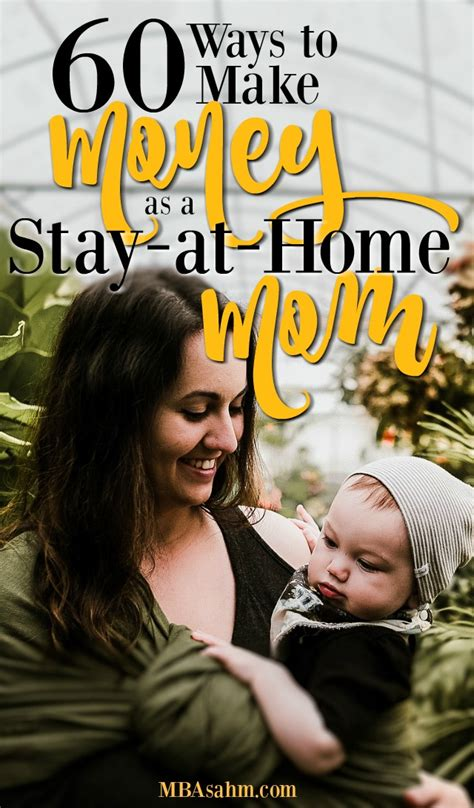 60 Ways To Make Money Online - 50 ways to make money as a stay at home mom