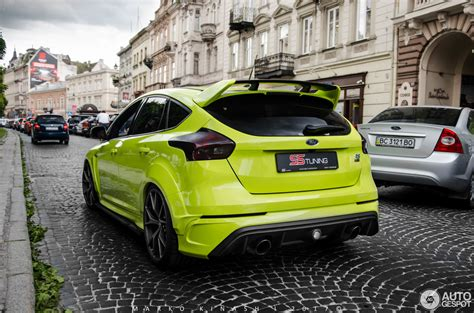 Ford Forcus Rs by Ford Focus Rs 2015 Ss Tuning 15 June 2017 Autogespot