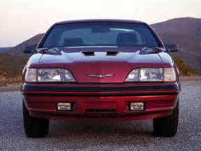 Ford Thunderbird Coupe 1988 Ford Thunderbird Turbo Coupe 64 66d