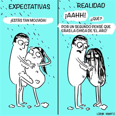 imagenes graciosas sobre sexualidad galer 237 a 9 ilustraciones de expectativa vs realidad