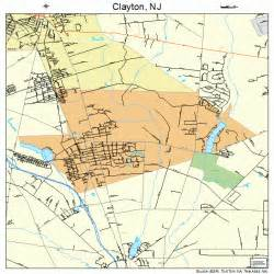 clayton new jersey map 3413360