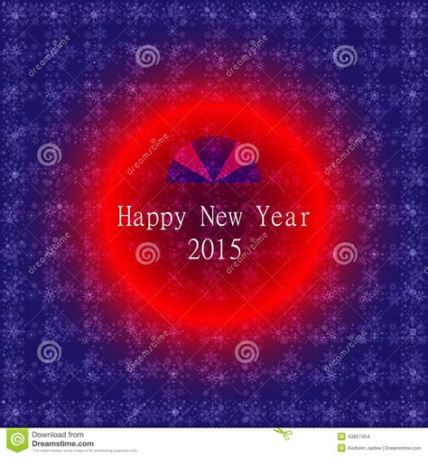 new year background card happy new year 2015 card vector background stock vector