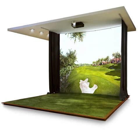 indoor golf simulator hd and full swing indoor golf simulator hd and full swing